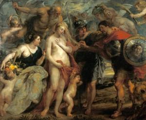 Rubens | Der siegreiche Held soll die Gelegenheit zum Friedensschluss ergreifen